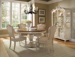 Distressed White Kitchen Table Design Distressed Round Dining Table And Chairs Industrial