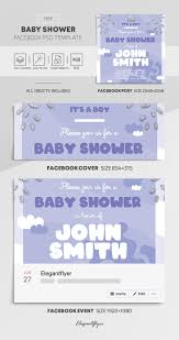 Baby Shower Free Facebook Cover Template In Psd Post