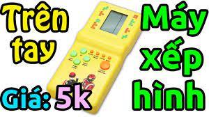 Trên tay máy chơi game điện tử xếp hình giá 5k - Mã giảm giá - Săn hàng giá  rẻ