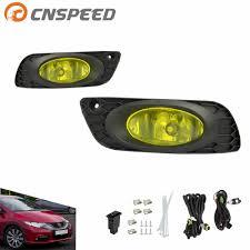 Types Of Fog Lights Cnspeed Fog Light For 2012 Honda Civic 4dr Sedan Us Type Fog