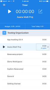 Task Tracking On Mobile Devices