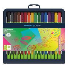 Набор <b>капиллярных ручек Schneider Line</b>-<b>Up</b> 32 шт., 30 цветов ...