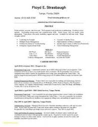 Best Resume Format For Administrative Assistant Examples 16 Awesome