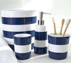 nautical bathroom decor uk. amazing bathroom accessories nautical theme navy stripe bath for child themed uk . decor a