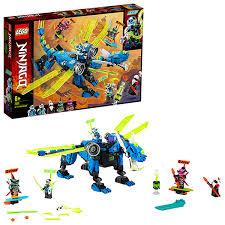 <b>Конструктор LEGO Ninjago Кибердракон</b> Джея 71711 - лучшая ...