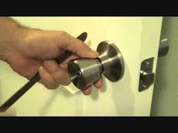 how to unlock a bedroom door without a key
