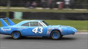 Richard Petty #43 Plymouth Superbird - American Speedfest 2013 ...