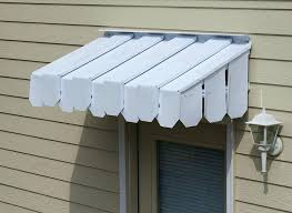 awnings over doors series door canopy above front glass kit