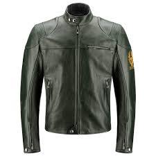 belstaff cooper leather jacket british racing green front