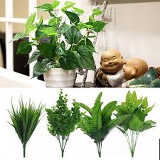 Image Modern Artificial Plants Outdoor Fake Leaf Foliage Bush Home Office Garden Decor Artificial Leaves Wedding Decoration Drop Shipping Aliexpress Aliexpresscom Buy Artificial Plants Outdoor Fake Leaf Foliage