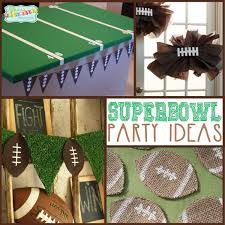 super bowl party decorations and super bowl party