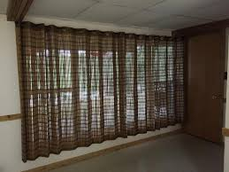 image of great bamboo curtain panels ideas