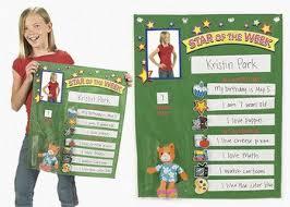 Star Student Pocket Chart Amazon Com Student Of The Week Pocket Chart Teacher