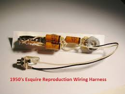thepickupwizard website 1950s esquire wiring harness