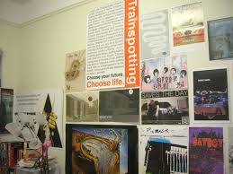 Collection of posters on a wall