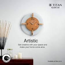 titan og artistic wall clock kar