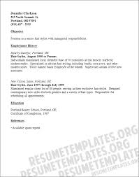 Makeup Artist Resume Sample: Make-up Articst