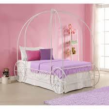 Modish Princess Carriage Bed Cinderella Coach Bed Princess Carriage Bed  Canopy Cinderella Twin Bed Princess Carriage
