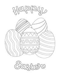Easter Printables Coloring Pages Free For Kids Activities Eggs