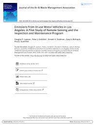pdf fuel based on road motor vehicle emissions inventory for the denver metropolitan area
