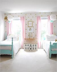 cute bedrooms. Brilliant Bedrooms A Vintage Girls Room With Painted Twin Beds A Pink And Gold Color Scheme  Easy DIY Artwork  Rooms Inn The House For Cute Bedrooms Pinterest