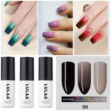 lulaa diy nail gel polish soak off ecart