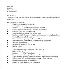 Office Assistant Resume Custom 40 Office Assistant Resume Templates To Download Sample Templates