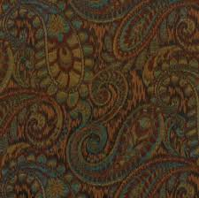 paisley furniture. dark red and teal woven paisley upholstery fabric for furniture modern gold roman shade h