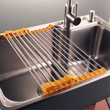 Kitchen Drying Rack For Sink Find Your Easier Kitchen Activities With Kitchen Prep Table