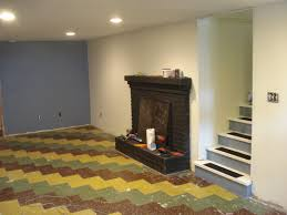 basement pool house. Amazing Flooring Unit Applied In Pool House Designs Finished With Painting Basement Floor Split Colors Ideas