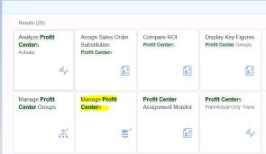 Sap S 4hana Profit Center Accounting Sap Blog Eursap
