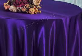 108 round satin table overlays regency 55663 1pc pk