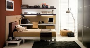 Small Picture Contemporary Teen Bedroom Design Ideas With Bright Color Will