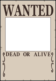 Example Of A Wanted Poster Impressive Wanted Poster Templates Word Templates Docs
