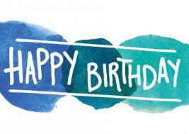 Buntes Happy Birthday Design Als Postkarte Happy Birthday