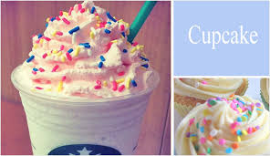 starbucks secret menu. Plain Menu This Is Basically The Birthday Cake Frappuccino Starbucks Had For A Limited  Time Only Without Raspberry Whipped Cream It Ends Up Tasting Bit Like  With Secret Menu