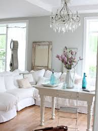 country decor living room. example of a cottage chic living room design in other with gray walls country decor