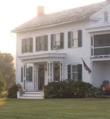 farmhouse style front doorsTwo Front Doors  Old House Web