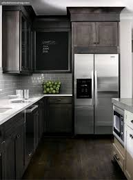 Small Picture Dark rustic wood mixed with modern elements gray white kitchen