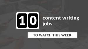 10 content writer jobs this week 2016 might be coming to an end in a few days time but the growth of marketing is still set to continue according to rappler sponsored content will be the