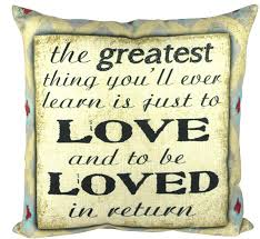 Pillow Quotes Unique Pal Fabric Love Quotes Throw Pillow Reviews Wayfair