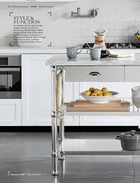 98 williams sonoma home kitchen islands style function our modular kitchen island brings barrelson customizable kitchen island carrara marble