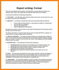 Business Report Format Example And Academic Business Report Writing ...
