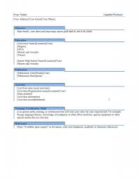 Resume Template Category Page 1 Mogency Com