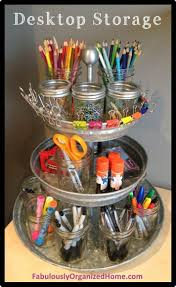 the perfect organizer for a small corner desk need this for my desk at school bathroomcute diy office homemade desk