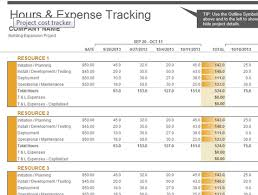 Microsoft 2013 Templates Learn Microsoft Excel Project Cost Tracker Excel 2013