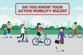 Now Stay Know Happy – Safe Active Mobility Your Move Rules -