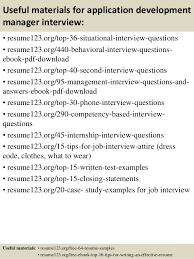 12 useful materials for application development manager - Application  Development Manager