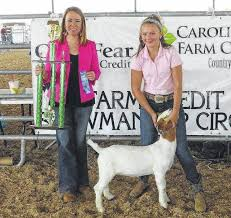 Berrys win big at 4-H goat show | Richmond County Daily Journal