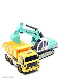 <b>Игрушка машина самосвал</b> с экскаватором Daesung Toys ...